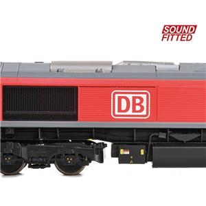 BRANCHLINE OO Class 66/0 66117 DB Cargo Sound Fitted
