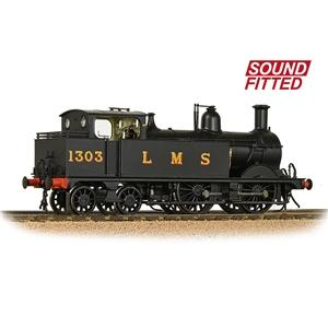 Image of BRANCHLINE OO MR 1532 Class (1P) 0-4-4 1303 LMS B