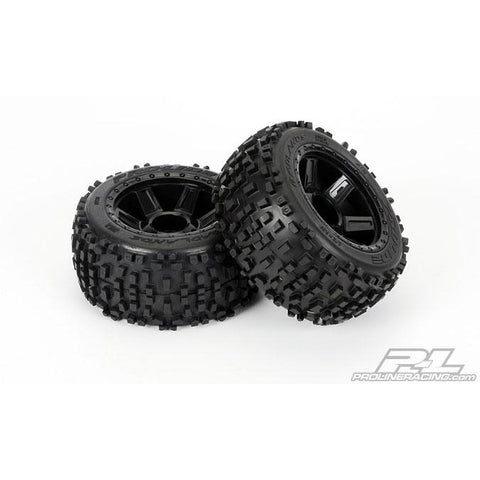 "PROLINE Badlands 3.8"" (Traxxas Style Bead) All Terrain Tir"