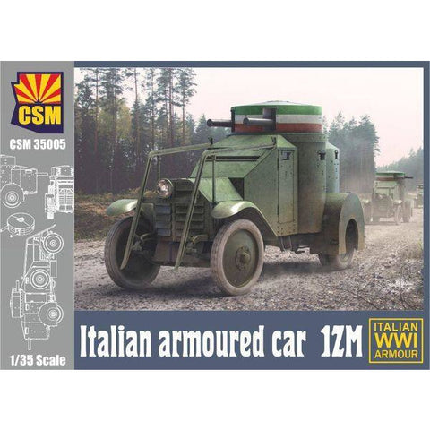 COPPER STATE MODELS 1/35 Lancia IZM Armoured Car