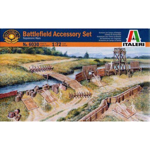 Image of ITALERI 1/72 Battlefield Accessory Set