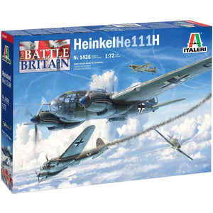 ITALERI 1/72 Heinkel He111H Battle of Brirain 80th Ann.