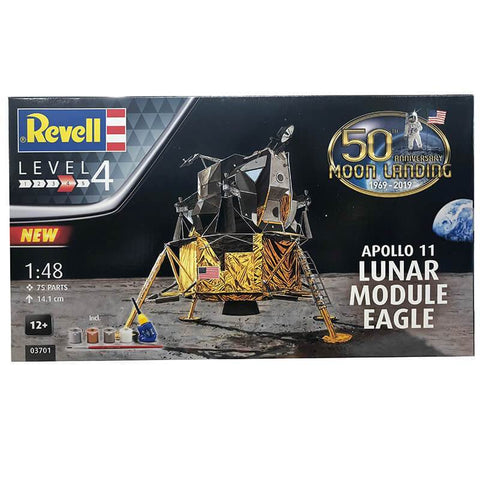 REVELL 1/48 Apollo 11 Lunar Module Eagle 50th Anniversary