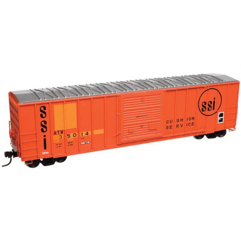 ATLAS N FMC 5077 BOXCAR - ATLANTIC & WESTERN - Hearns Hobbies Melbourne - ATLAS