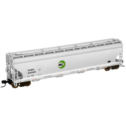 ATLAS N ACF CENTERFLOW GRAIN HOPPER - SOUTHERN PACIFIC #498032 - Hearns Hobbies Melbourne - ATLAS