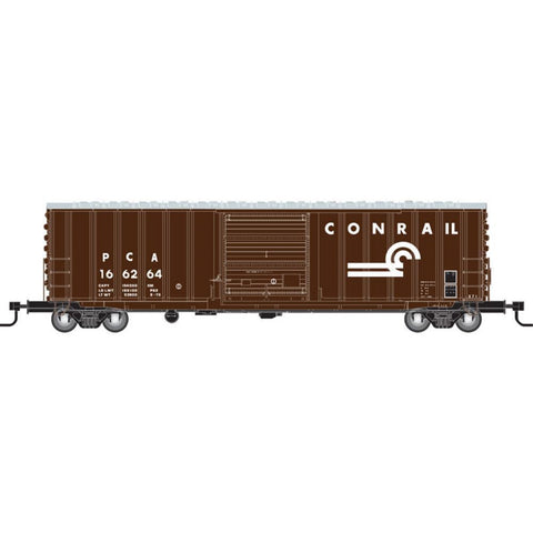 ATLAS N ACF 50FT BOXCAR - CONRAIL - Hearns Hobbies Melbourne - ATLAS