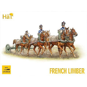 HAT 1/72 French 6 Horse Limber Team