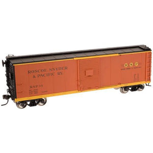 ATLAS HO USRA Steel Box Car Roscoe Snyder & Pacific #31