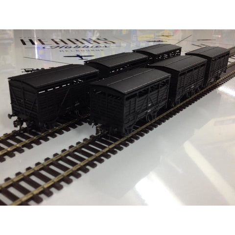 AUSTRAINS NSWGR CW CATTLE WAGONS PACK 5