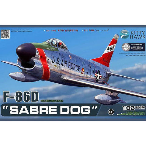 KITTYHAWK 1/32 F-86D Sabre Dog