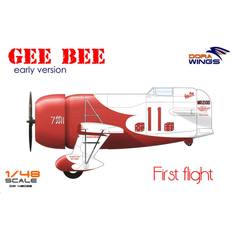 Image of DORA WINGS 1/48 Gee Bee Super Sportster R-1 (Early Vversion)