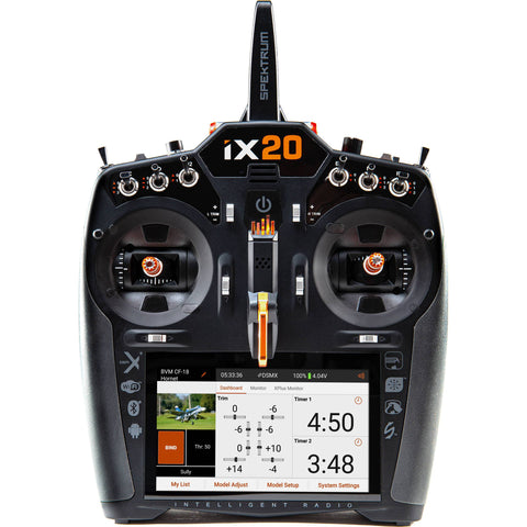 SPEKTRUM iX20 2.4GHz DSM-X 20 Channel Transmitter Only