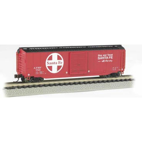 BACHMANN N 50' Sliding Door Box Car - Santa Fe