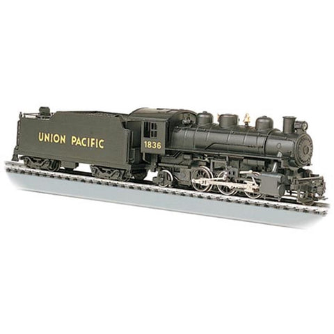 BACHMANN HO SCALE PRAIRIE 2-6-2 STEAM LOCOMOTIVE - SMOKE & OPERATING HEADLIGHT