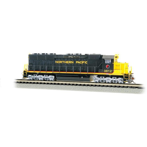 BACHMANN N EMD SD45 W/DCC SOUND - NORTHERN PACIFIC - Hearns Hobbies Melbourne - BACHMANN