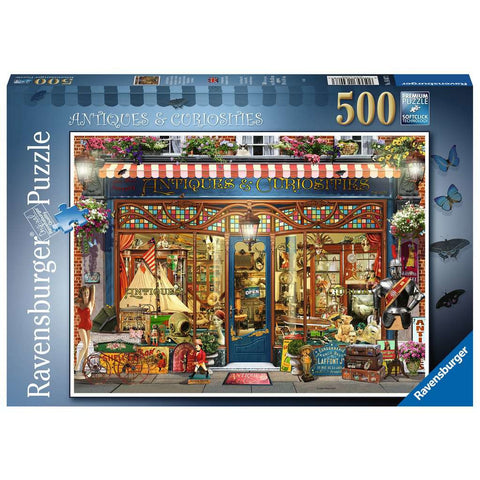 RAVENSBURGER - Antiques & Curiosities 500pc