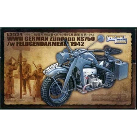 Great Wall WWII German Zundapp KS 750 /w Feldgendarmerie 19