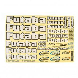 Futaba Car Decal Sheet