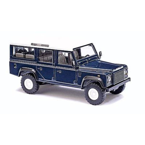 Busch Gmbh Land Rover Defender blue - Hearns Hobbies Melbourne - BUSCH