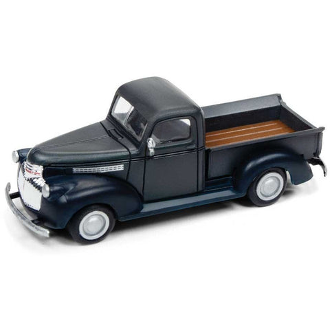 CLASSIC METAL WORKS HO 1941-46 Chevy Pickup Truck - Grey/Bl