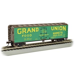 Image of BACHMANN HO 40' Wood-Side Reefer Grand Union