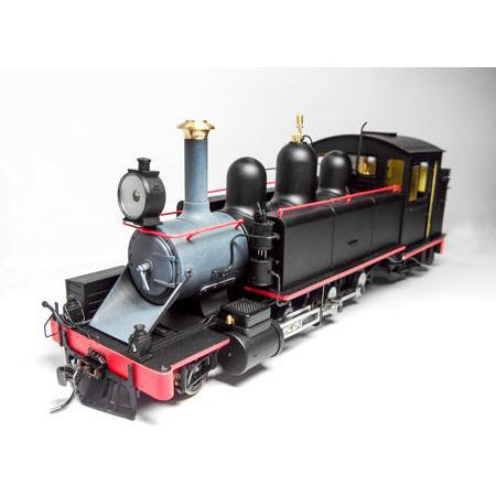 Image of HASKELL NA Class Puffing Billy Locomotive - Black w/Red (HK