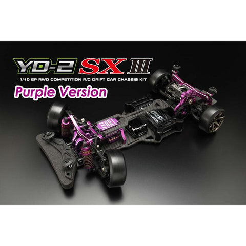 YOKOMO 1/10 RWD Drift Car  YD-2SXIII Kit (Graphite Chassis)
