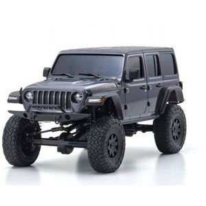 KYOSHO 1/24 Mini-Z 4X4 MX-01 Jeep Wrangler Unlimited Rubicon Granite Crystal Metallic