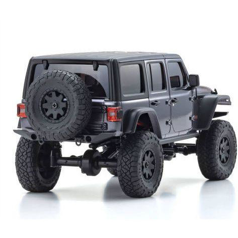 Image of KYOSHO 1/24 Mini-Z 4X4 MX-01 Jeep Wrangler Unlimited Rubicon Granite Crystal Metallic