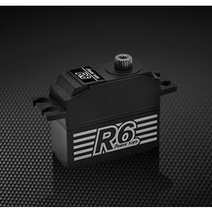 POWER HD R6 STANDARD SERVO CORELESS ALLOY GEARS
