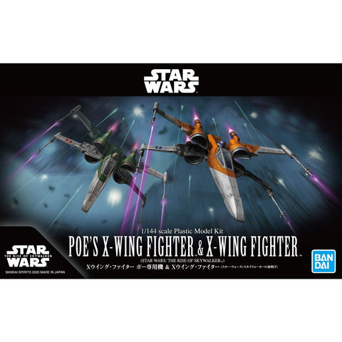 BANDAI 1/144 STAR WARS POE'S X-WING FIGHTER