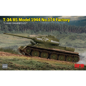 RYEFIELD 5040 1/35 T-34/85 Model 1944 No.174 Factory Plastic Model Kit