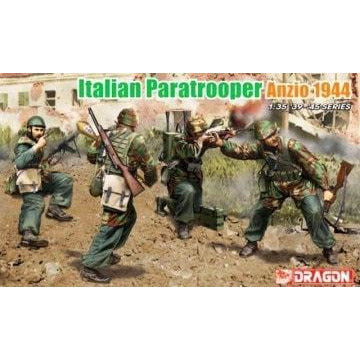 Image of DRAGON 1/35 '39-'45 Series Italian Paratrooper Anzio 1944