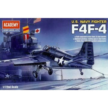 ACADEMY 1/72 US Navy Fighter F4F-4