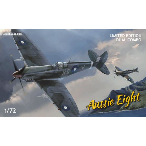 EDUARD 2119 1/72 Aussie Eight DUAL COMBO Plastic Model Kit