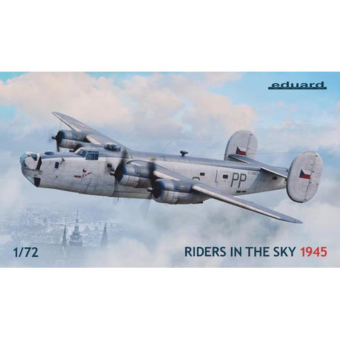 EDUARD 2123 1/72 Riders in the Sky 1945 Plastic Model Kit