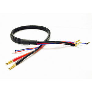 JPRC 600mm 2 Cell Lipo Charge Lead - 4mm/5mm (JP001) *Colour choice