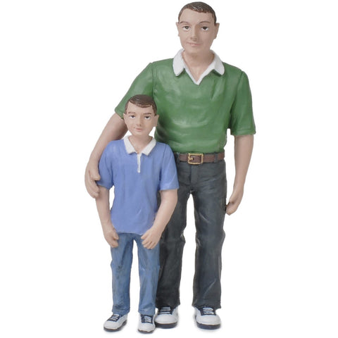 BACHMANN G scale Father and Son Figures 1/22.5