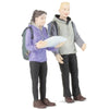 BACHMANN Man and Woman Hikers1/22.5