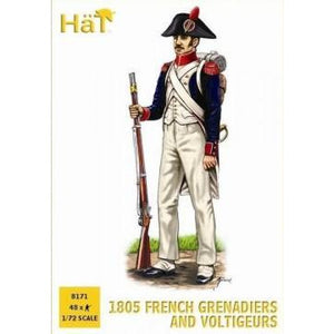 HAT 1/72 1805 French Voltigeurs and Grenadiers
