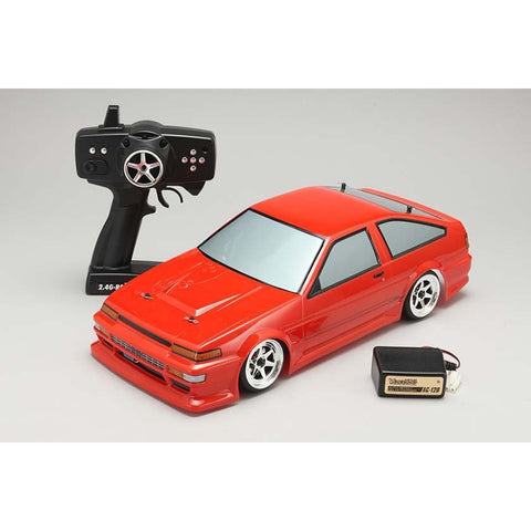 YOKOMO 1/10 Drift Package NEO-Toyota AE86 Trueno (Red) Body