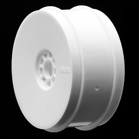 AKA 1/8 Buggy DOUBLE DOWN (Super Soft) EVO Wheel Pre-Mounted White