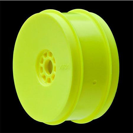AKA 1/8 Buggy I-BEAM (Super Soft - Long Wear) EVO Wheel Pre-Mounted Yellow