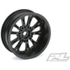 PROTOFORM POMONO Drag Spec 2.2 Black Front Wheels (2) For Slash 2WD