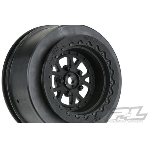 PROTOFORM POMONO Drag Spec 2.2/3.0 Black Rear Wheels (2) for Slash