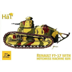 HAT FT-17 Renault tank with hotchkiss mg