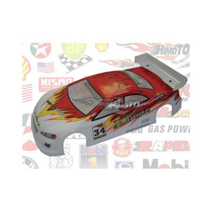 HIMOTO Body Dodge 3.0 Red 200mm