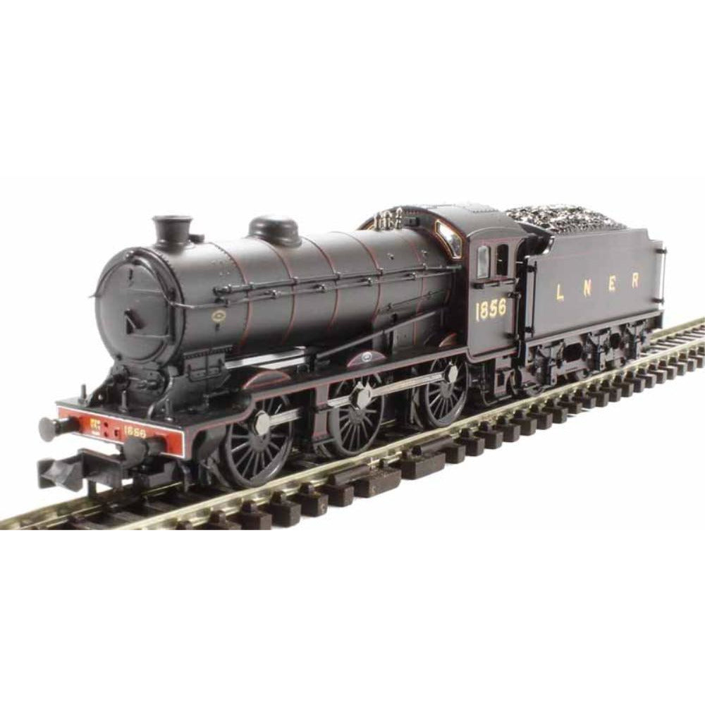 GRAHAM FARISH J39 1856 LNER Lined Black Flat Sided Tender