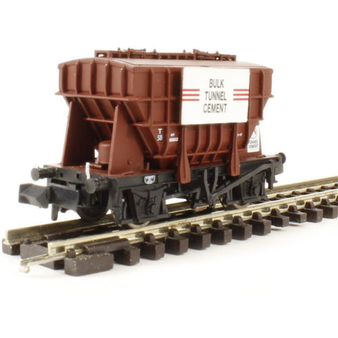 GRAHAM FARISH 20 Ton Presflo Bulk Powder Wagon 'Bulk Tunnel Cement' Bauxite - Hearns Hobbies Melbourne - GRAHAM FARISH