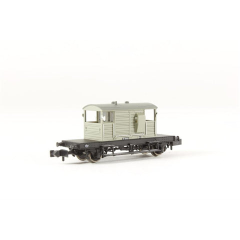 GRAHAM FARISH SR 25 Ton 'Pill Box' Brake Van BR Grey - Hearns Hobbies Melbourne - GRAHAM FARISH
